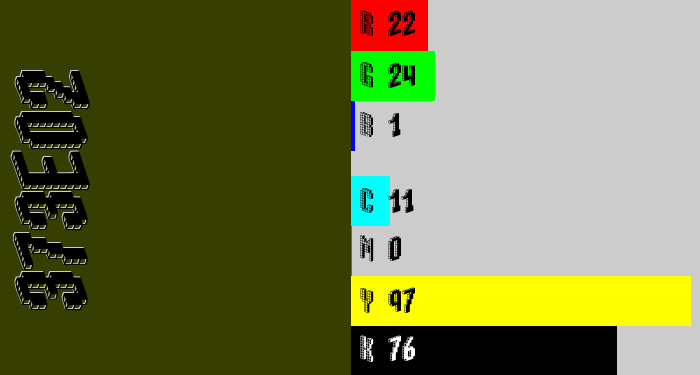 Hex color #373e02 - dark olive