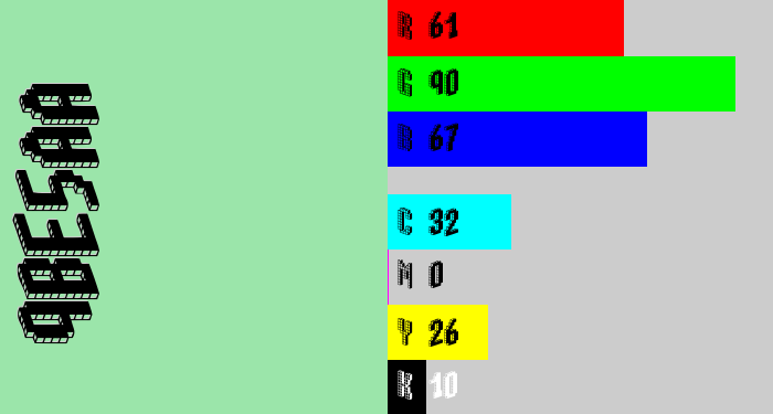 Hex color #9be5aa - hospital green
