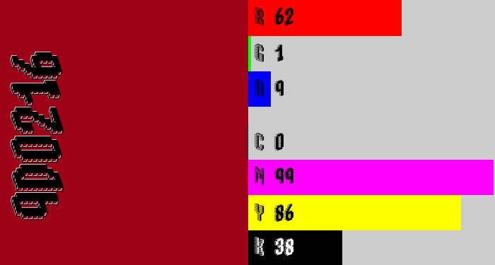 Hex color #9d0216 - carmine