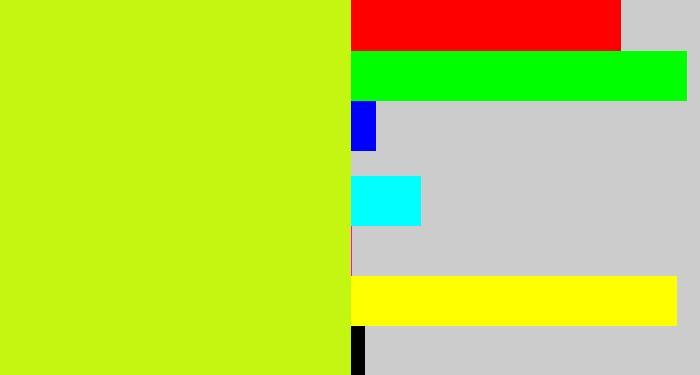 Chartreuse Hex C5f612 Rgb 197 246 18