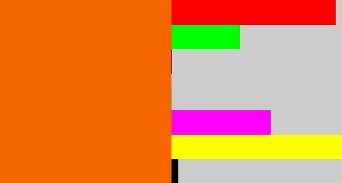 bright orange hex f56600 rgb 245 102 0